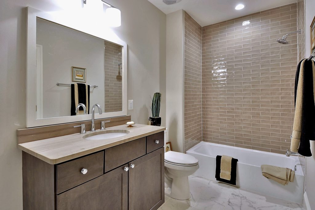 Lower Level Bathroom Remodeling