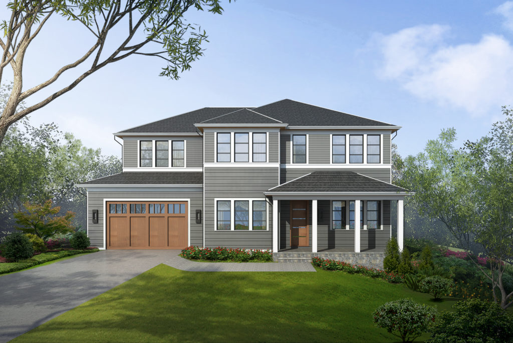 Home for Sale at DERUSSEY PARKWAY, CHEVY CHASE, MARYLAND | Custom Home Builder Fairfax VA